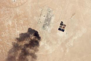 Abkaik Raffinerie - © Foto: APA / AFP / Planet Labs Inc./HO