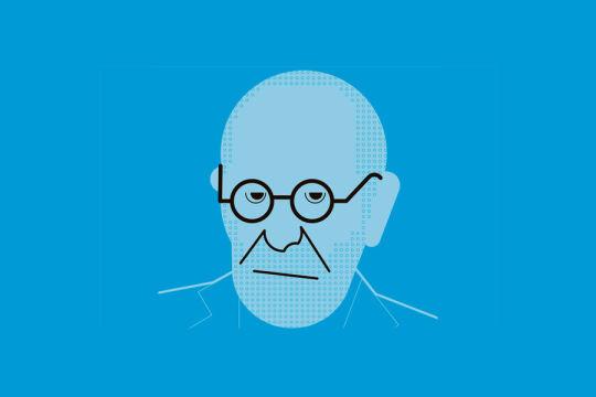 Sigmund Freud - © Illustration: Rainer Messerklinger