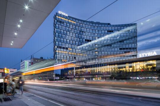 Das Styria Headquarter in Graz - Das Styria Headquarter in Graz - © Foto: Helmut Pierer