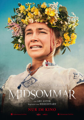 Midsommar - USA/S/H 2019. Regie: Ari Aster.<br /> Mit Florence Pugh, Jack Reynor, Will Poulter.<br /> Lunafilm. 147 Min. - © Lunafilm