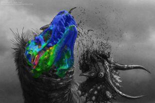 Dinosaurier - © llustration: Brian Engh.