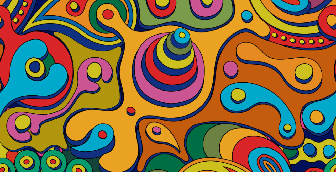 Psychedelisches Gemälde - Psychedelisches Gemälde - © iStock / il67