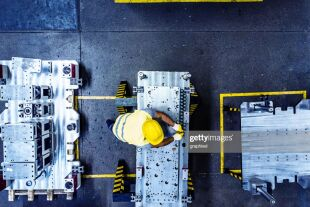 Fabriksarbeiter - © iStock / graphixel