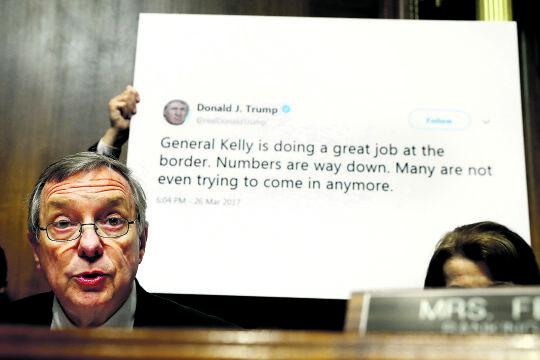 Senator Dick Durbin - © Foto: picturedesk.com / AP / A Jacquelyn Martin