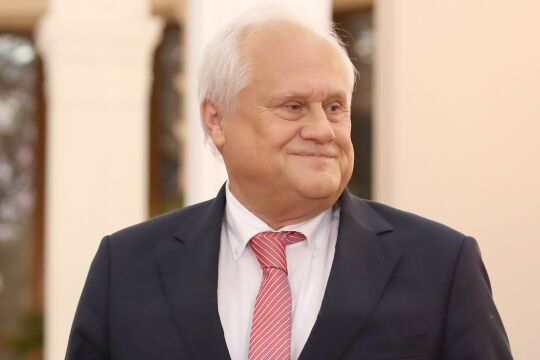 Sajdik - Martin Sajdik ist Chefdiplomat der OSZE und hat viel Erfahrung auf politisch ruppigem Terrain. - © picturedesk.com / Natalia Fedosenko / Tass