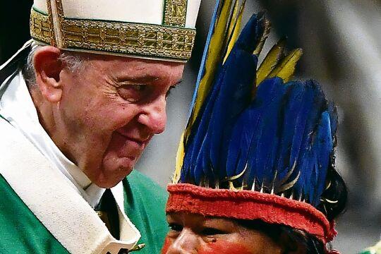 Papst-Amazonien_2 - © APA / Tiziana Fabi