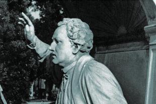 """Priester der  Revolution 1848 - Anton Füster, """"Feldkaplan der Akademischen Legion. Mitglied des ersten österreichischen Reichstages. Bürger der Vereinigten Staaten von Nordamerika."""" - © Foto: A. Häusler"""