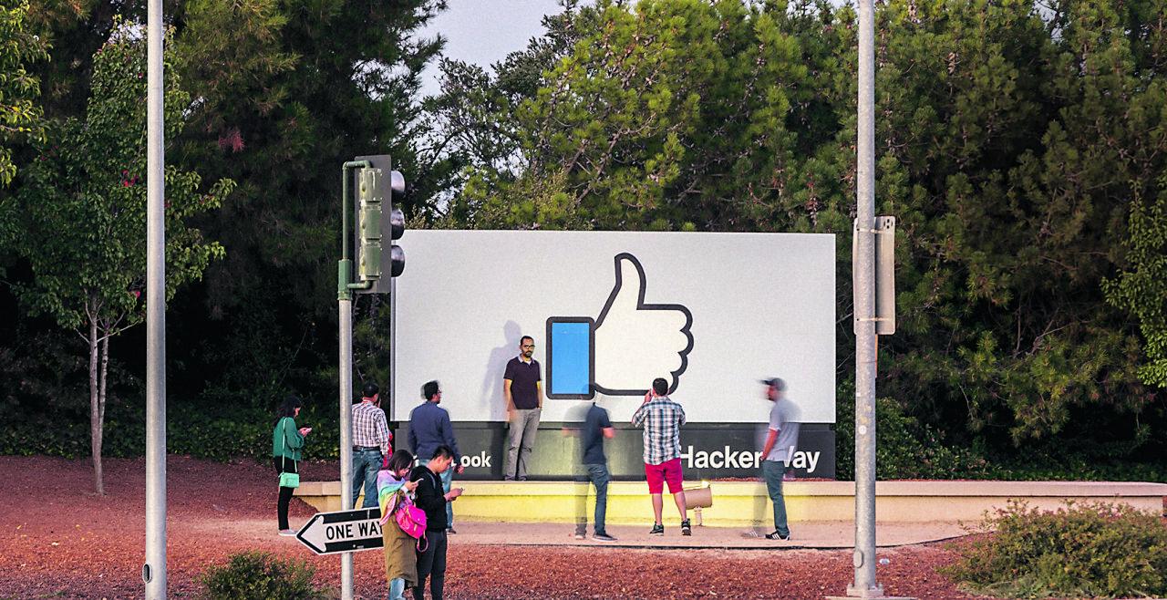 Facebook_Silicon Valley_Like - © iStock / JasonDoiy