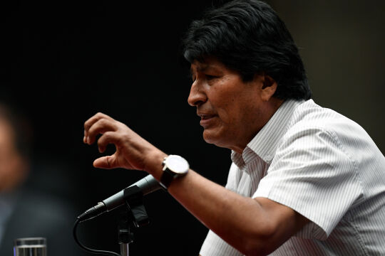 Morales_Bolivien - © APA / Pedro Pardo