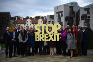 Brexit - © Foto: APA / AFP / Andy Buchanan