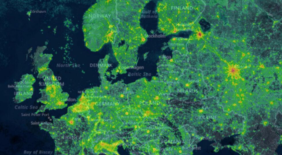 Europa 2019 (Lichtmessung) - Lichtmessung in Europa 2018 - © Fotos: Jurij Stare / www.lightpollutionmap.info