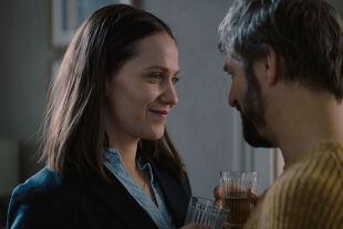 Glück gehabt - Zwischen Rita (Larissa Fuchs) und Artur (Philipp Hochmair) ist nicht immer alles bestens. - © Lunafilm