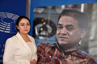 Uiguren und EU-Parlament  - © Foto: Wolfgang Machreich