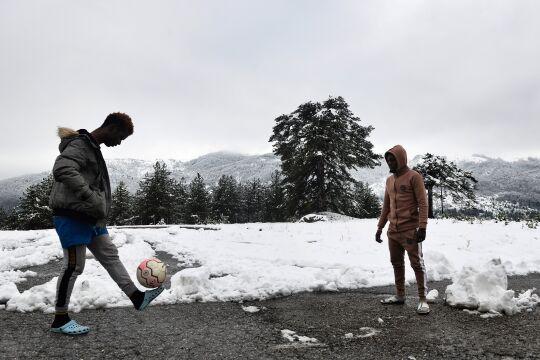 Griechenland - © Foto: APA / AFP / Sakis Mitrolidis