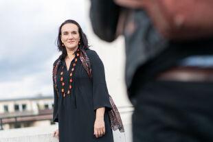 Terézia Mora  - © Foto: picturedesk.com / dpa / Frank Rumpenhorst