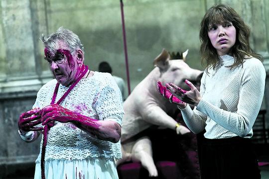 Die Hamletmaschine.jpg - © Matthias Horn / Burgtheater