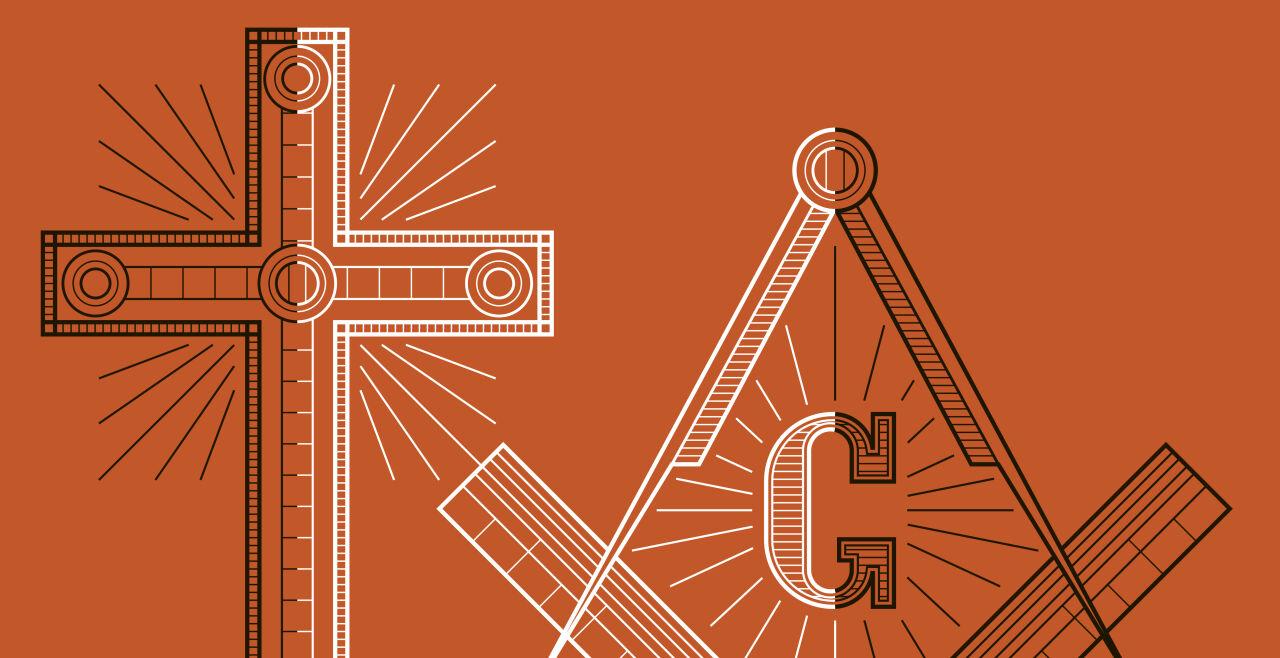 Freimaurer Christen - © Illustration: Rainer Messerklinger