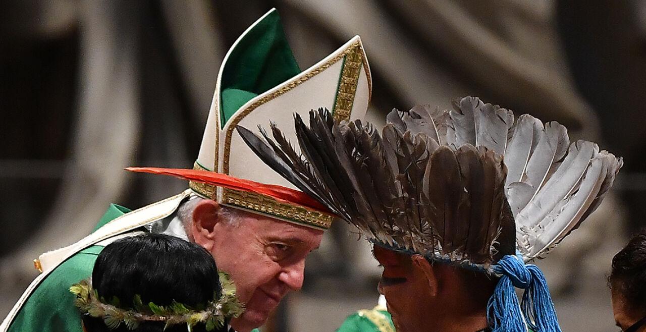 franziskus amazonien-synode - © APA / AFP / Tiziana Fabi