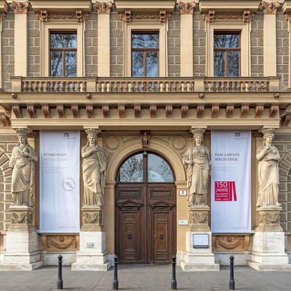 Palais Epstein - © Parlamentsdirekton / Michael Buchner