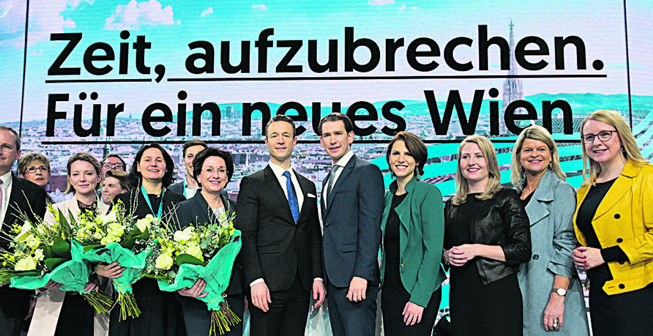 36. Landesparteitag der ÖVP Wien - © Foto: APA / Herbert P. Oczeret