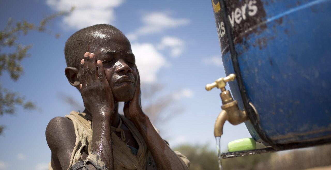 Rachael Nakwawi, Global Handwashing Day - © APA