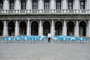 Venedig Corona Restaurant - © Foto: picturedesk.com / Reuters / Manuel Silvestri