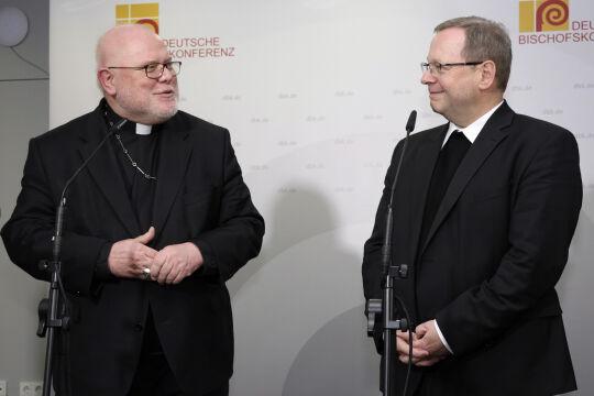 Marx-Bätzing - © picturedesk.com/Peter Back/Action Press - Der Münchner Kardinal Reinhard Marx und Nachfolger Georg Bätzing als Vorsitzender der Deutschen Bischofskonferenz