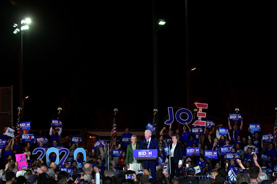 Biden US Wahl Trump - © Foto: APA/AFP/Frederic J. Brown