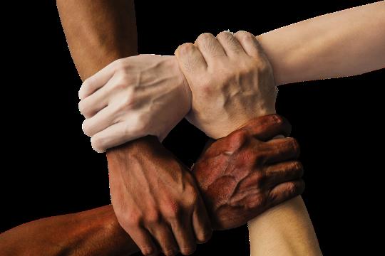 Hände Zusammenhalt - © truthseeker08 / Pixabay