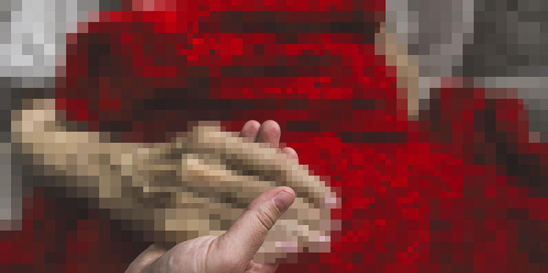 Hospiz Abschied Distanz Krise - © Fotomontage: Rainer Messerklinger (unter Verwendung eines Bildes von iStock/LPETTET)