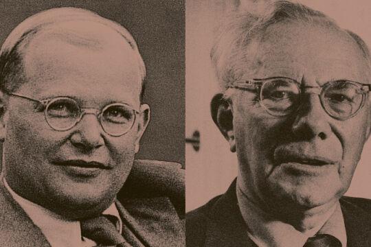 Bonhoeffer Tillich - © Fotos: picturedesk.com / dpa bzw. picturedesk.com / Fritz Eschen / Ullstein Bild (Bildbearbeitung: Rainer Messerklinger) - Links: Dietrich Bonhoeffer, Rechts: Paul Tillich