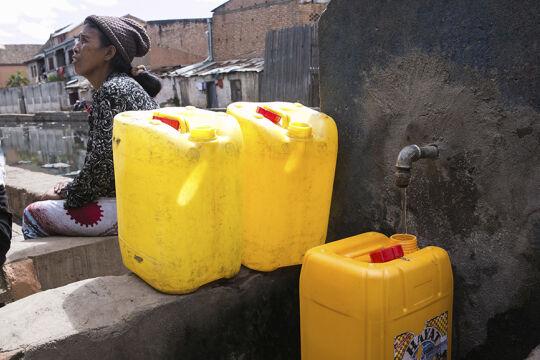 Mangelnde Ressource - © Foto: Rijasolo / AFP