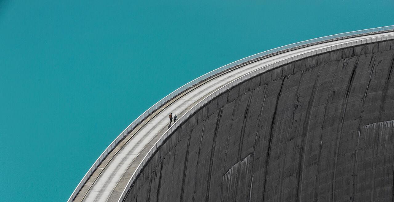Staudamm - © Foto: iStock/DieterMeyrl