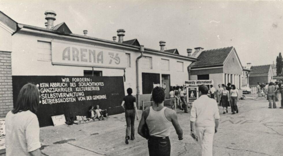 """OEFM Arena Besetzt  - Dokumentarisch: """"Arena besetzt"""" (1977)"""