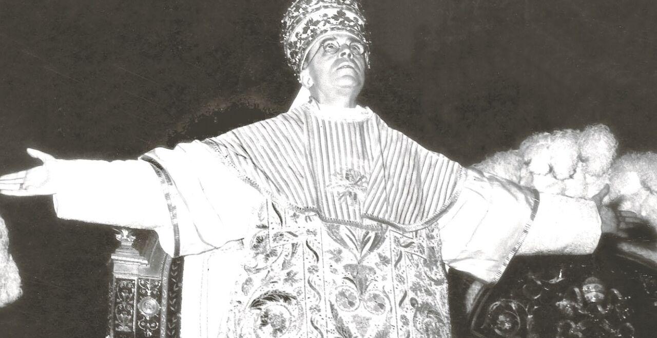 Pius XII. neu - © KNA
