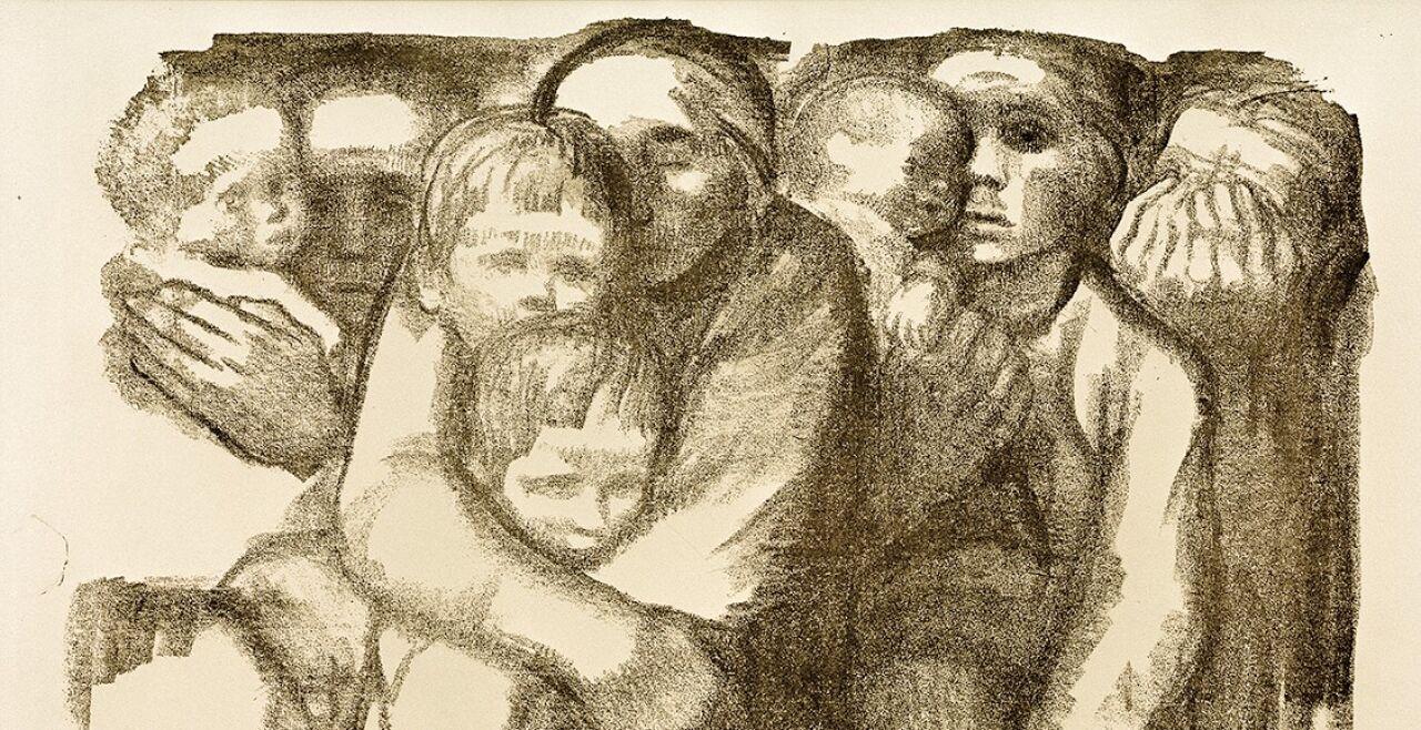 "Muttertag Krise  - © Bild: Käthe Kollwitz: ""Mütter"" (1919); Foto: picturedesk.com / akg-images"