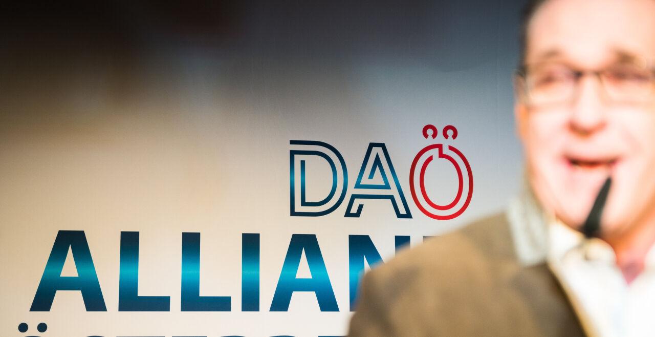 DAÖ HC Strache - © Foto: picturedesk.com / Florian Schroetter / EXPA
