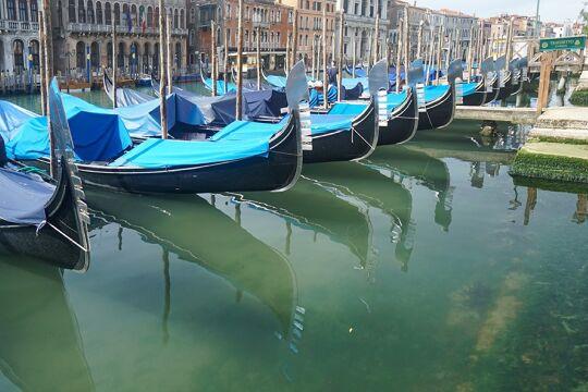 Massentourismus Venedig Corona Klima - © Foto: Getty Images / Andrea Merola / Bloomberg