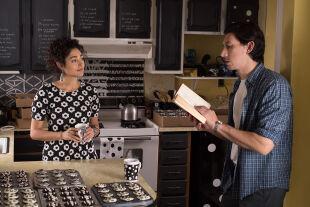 "Paterson - Golshifteh Farahani als Laura, Adam Driver als Paterson in Jim Jarmuschs ""Paterson"". - © Foto: Mary Cybulski"