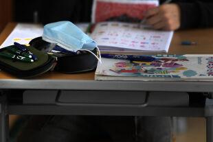 Maske und Schule - © Foto: APA / Harald Schneider