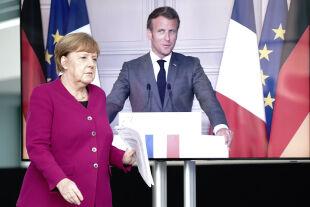 Merkel Macron - © Foto: APA / AFP / POOL / Kay Nietfeld