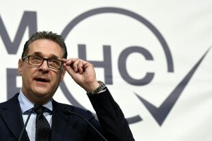 Strache - © Foto: APA / Harald Schneider