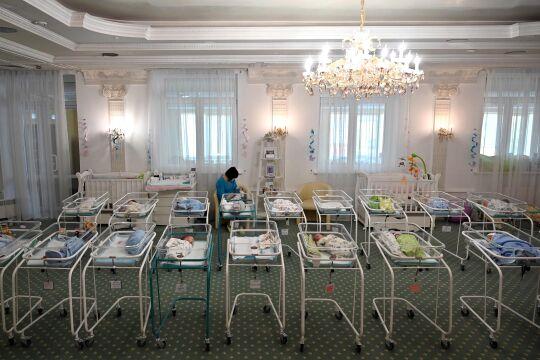 Leihmutterschaft Ukraine - © Foto: APA /AFP /Sergei Supinsky