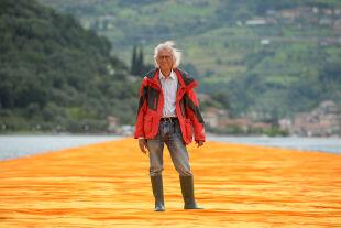 Christo - © Foto: APA / AFP / Filippo Monteforte