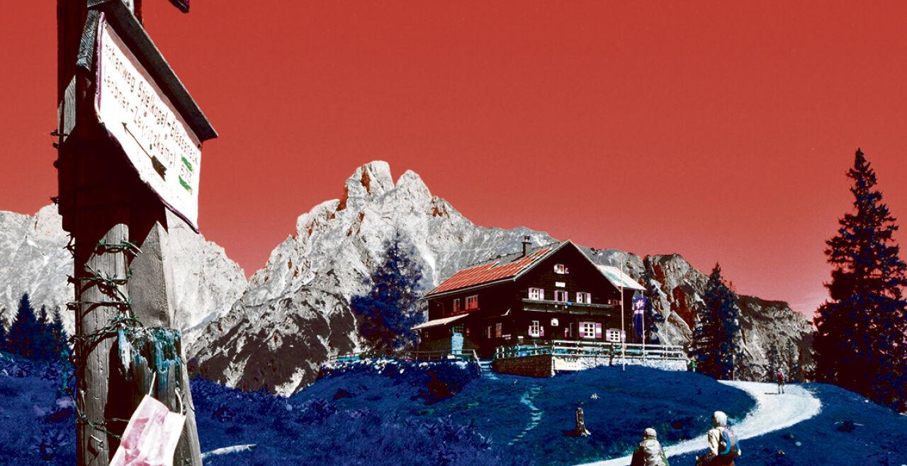 Gesäuse - © Foto: Wolfgang Machreich (Bildbearbeitung: Rainer Messerklinger)