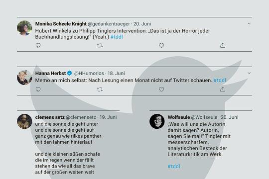 Twitterbubble - © Collage: Rainer Messerklinger