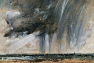 "rainstorm - © Getty Images / Dea Picture Library (Bild: ""Rainstorm over the sea"" ca 1824-1828, John Constable (1776-1837); Öl auf Papier)"