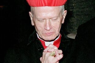 Archivbild Hans Hermann Kardinal Groër - Der Wiener Alt-Erzbischof Kardinal Hans Hermann Groër, aufgenommen am 08. April 1995 in Wien, ist in der Nacht zum Montag, 24. Maerz 2003, im Alter von 83 Jahren gestorben. - © APA / Ulrich Schnarr
