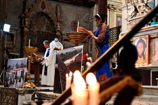 Sant'Egidio, Andrea Riccardi - © Foto: APA / AFP / Vincenzo Pinto