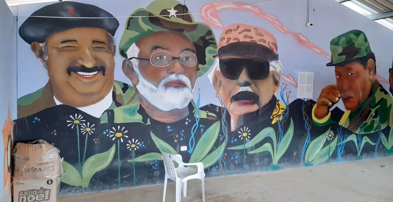 FARC-Dorf - © Foto: Ralf Leonhard
